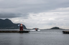 Port of Alesund Royalty Free Stock Photography
