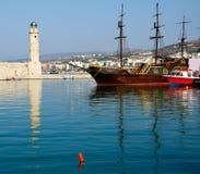 port Rethimno Fotografia Royalty Free