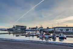 The port of Reykjavik Royalty Free Stock Image