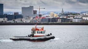 Port Of Reykjavik stock image