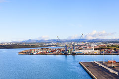The Port of Reykjavik Royalty Free Stock Photography