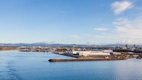 The Port of Reykjavik Stock Photo
