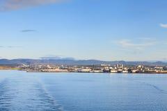 The Port of Reykjavik Stock Images