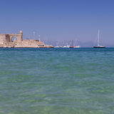 Port of Rhodes Royalty Free Stock Images