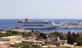 Port of Rhodes Stock Image