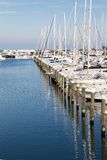 Port of Rimini Royalty Free Stock Photo