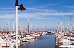 Port of Rimini Royalty Free Stock Images