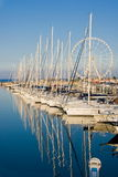 Port of Rimini, Italy Royalty Free Stock Image