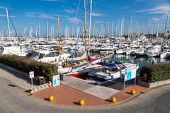 Port of Rimini Royalty Free Stock Photos
