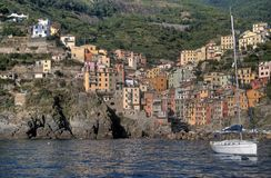 Port of Riomaggiore Royalty Free Stock Image