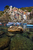 Port of Riomaggiore Royalty Free Stock Photos