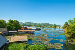Port River Kwai. Stock Photo