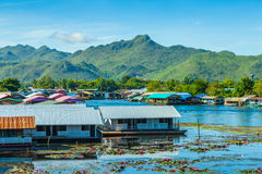Port River Kwai. royalty free stock photography