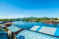 Port River Kwai. Royalty Free Stock Photos