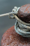 Port rope Royalty Free Stock Images