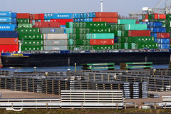 Port of Rotterdam Royalty Free Stock Photography
