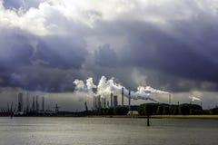 port rotterdam Royaltyfri Foto