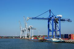 Port of Rotterdam Stock Photos