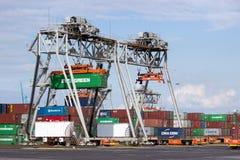 Port of Rotterdam Stock Image