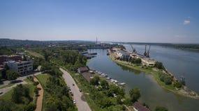 Port Rousse, Bulgarien, Juli 2017 royaltyfri foto