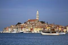 Port in Rovinj. Istria. Croatia Stock Photography
