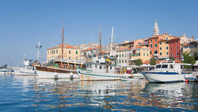 Port of Rovinj Royalty Free Stock Images