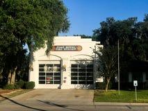 Port Royal Fire Station, South Carolina. Port Royal Fire Station, Port Royal, South Carolina Stock Images