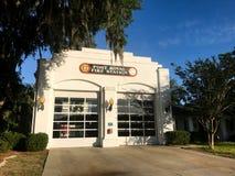 Port Royal Fire Station, South Carolina. Port Royal Fire Station, Port Royal, South Carolina Stock Image