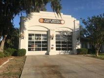 Port Royal Fire Station, South Carolina. Port Royal Fire Station, Port Royal, South Carolina Stock Photos