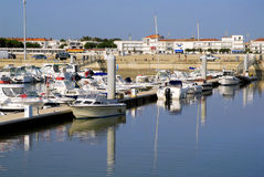 Port of Royan in France Stock Photos