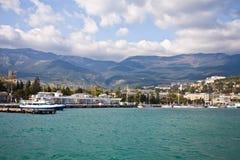 port s yalta Arkivfoton