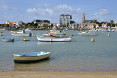 Port of Saint Gilles Croix de Vie in France Royalty Free Stock Images