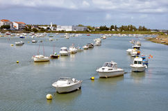 Port of Saint Gilles Croix de Vie in France Royalty Free Stock Photography