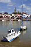 Port of Saint-Gilles-Croix-de-Vie in France Royalty Free Stock Image