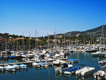 Port Saint Jean Cap Ferrat Green Stock Image