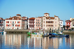 Port of Saint-Jean-de-Luz Royalty Free Stock Photography