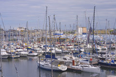 Port of Saint-Malo in France Royalty Free Stock Photography