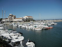 Port of Saint Pierre,France Royalty Free Stock Photos