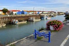 Port of Saint Trojan in France Stock Image
