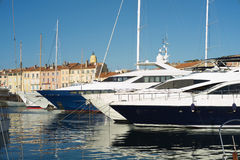 Port of Saint Tropez Royalty Free Stock Photos