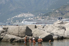 Port of Salerno, Italy Stock Photography