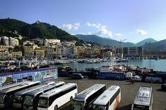 Port of Salerno, Italy Stock Photo