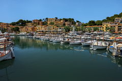 Port Sallor, Mallorca, Spain - panorama.nature Royalty Free Stock Photo