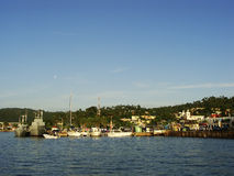 Port of Samana Royalty Free Stock Images