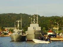 Port of Samana Stock Image