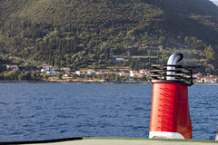 Port of Sami at Kefalonia in Greece Royalty Free Stock Photography