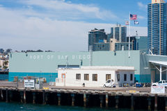 Port of San Diego building taken from bay Stock Images