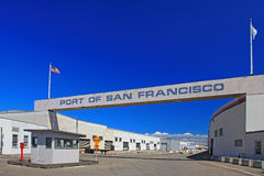 Port of San Francisco royalty free stock images