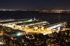 Port of San francisco at night. View of Port of San Francisco at night Stock Photography
