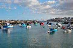 Port San Miguel de Tajao chez Ténérife Image libre de droits